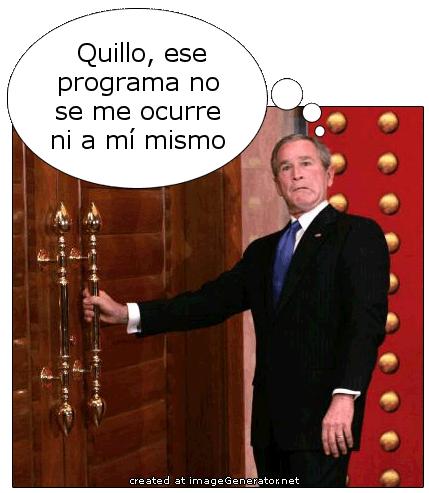 Bush sobre los 7.000 euros